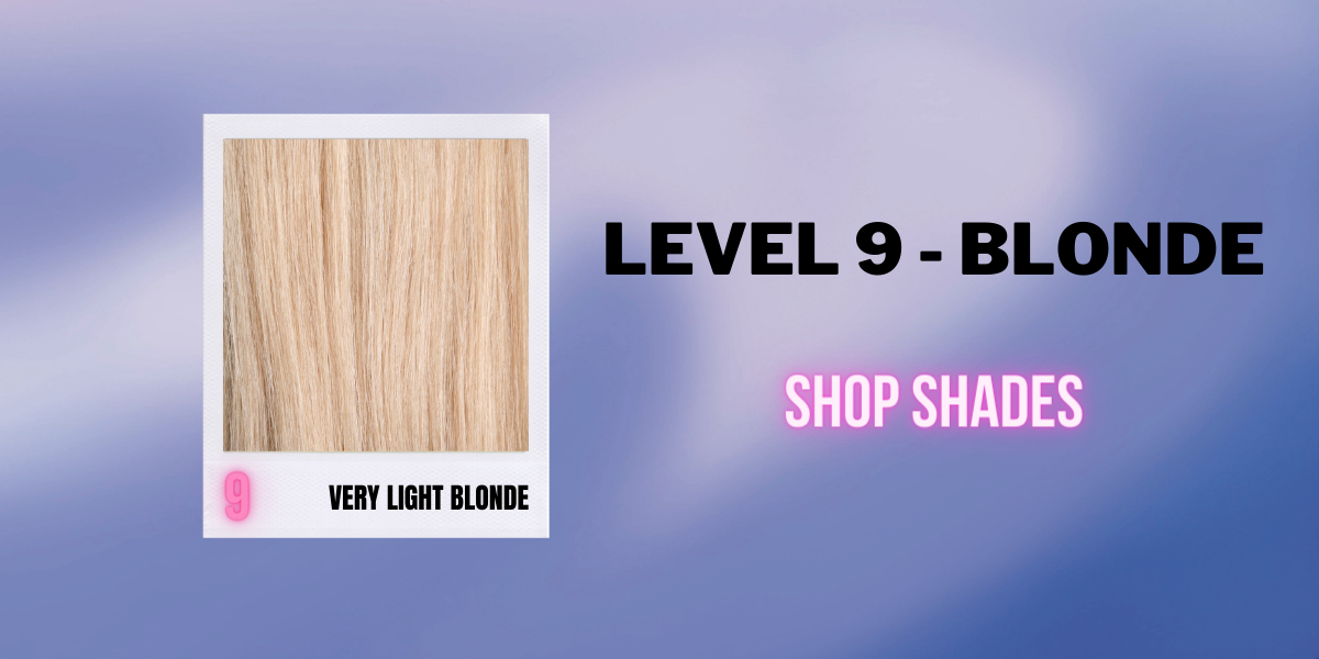 Blonde - Level 9 -Shop by Hair Level