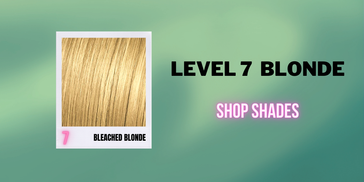 Bleached Blonde - Level 7 - Shop by Hair Level