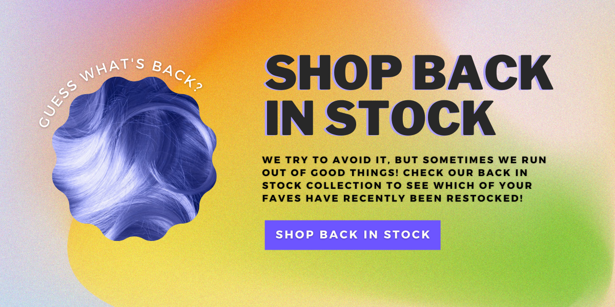 Shop by Products Back in Stock