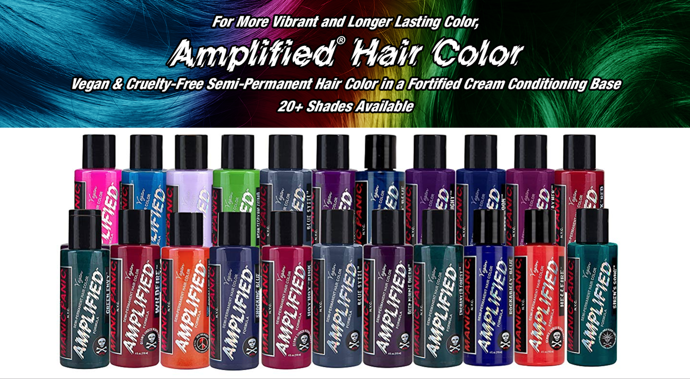 Amplified Semi-Permanent Hair Color