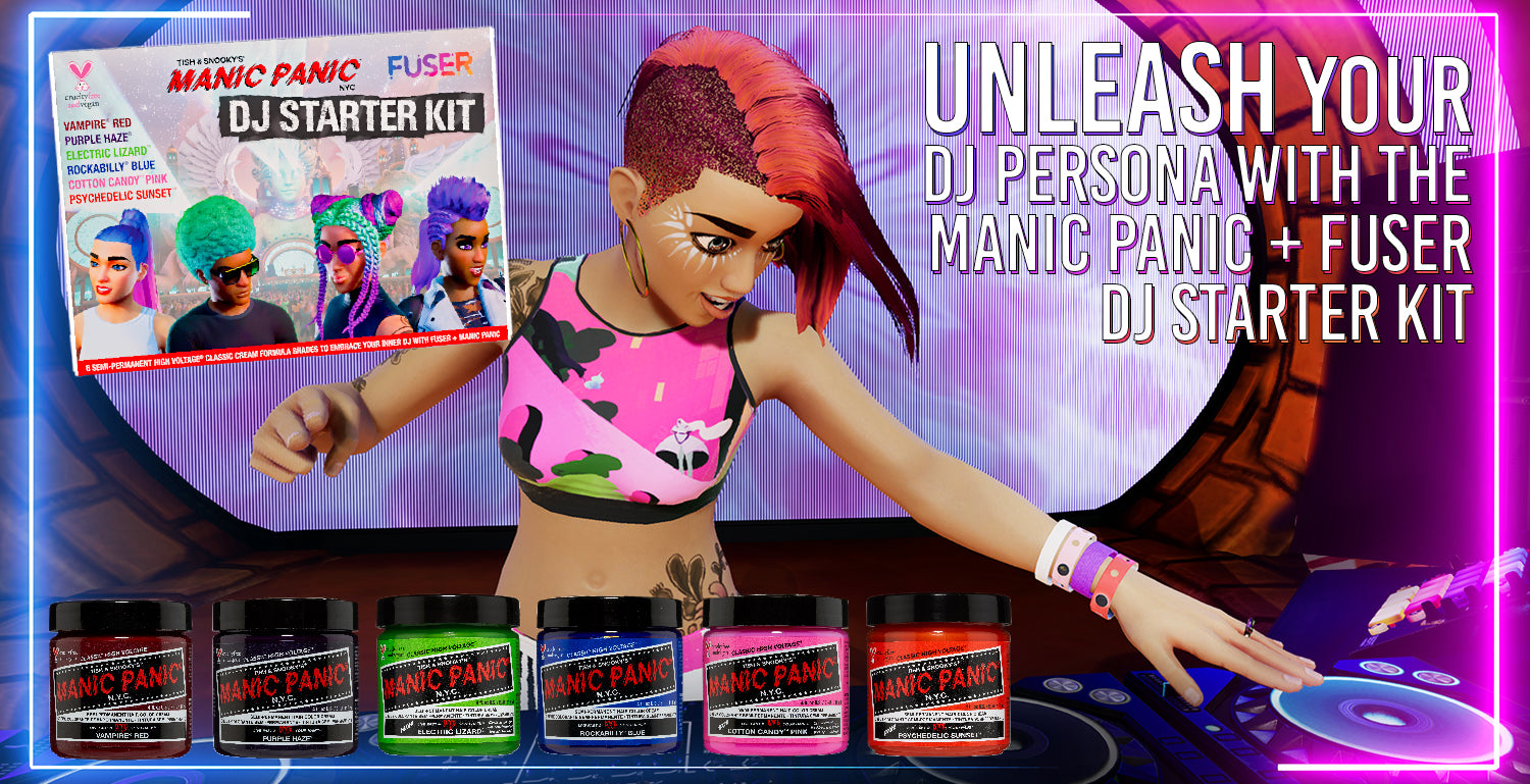Unleash your Inner DJ with the Manic Panic x FUSER DJ Starter Kit