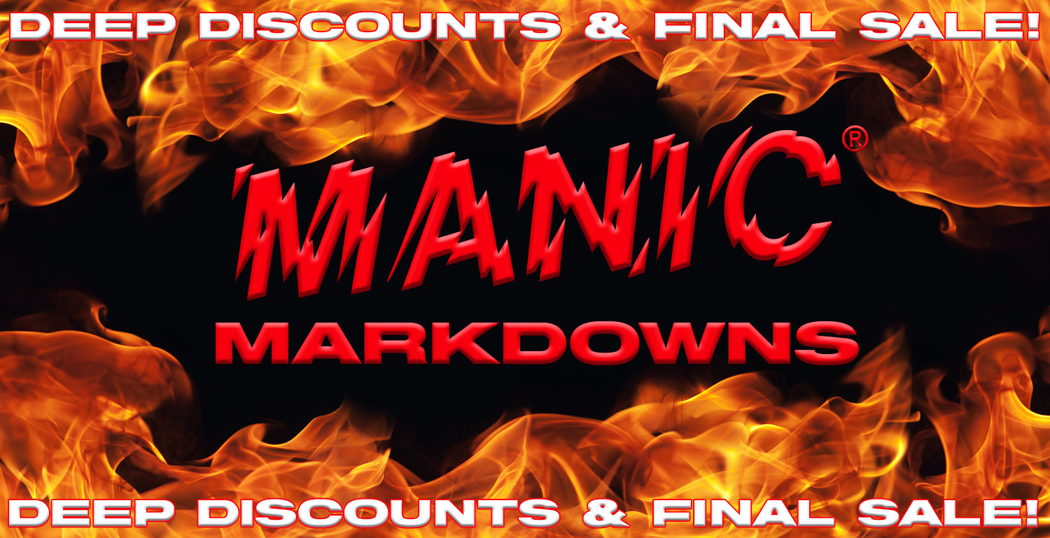 MANIC® Markdowns - Deep Discounts and Final Sale Items