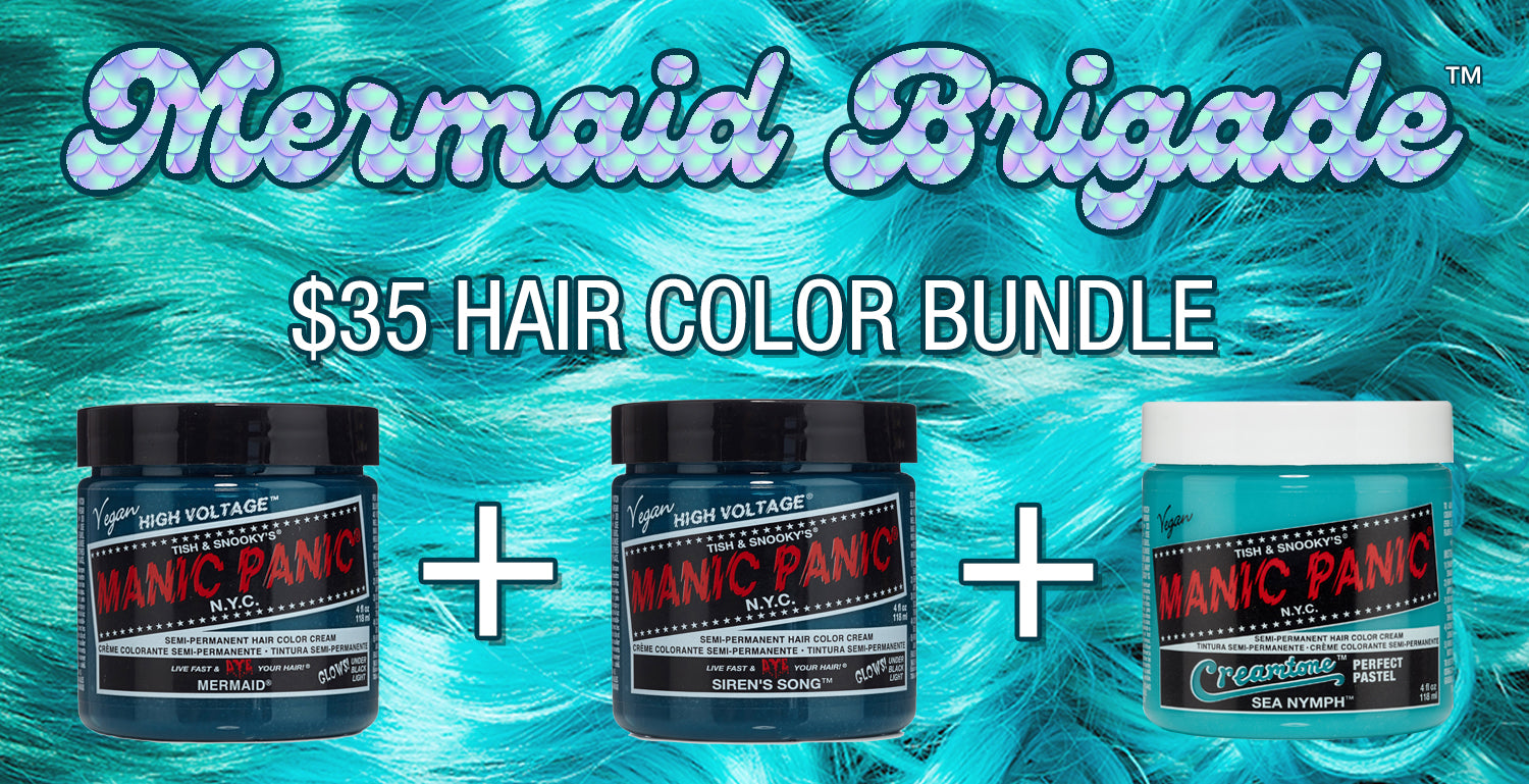 Mermaid Brigade™ Bundle - Get Mermaid, Siren's Song and Sea Nymph for only $35