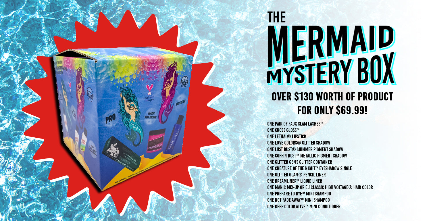 Mermaid Mystery Box! Over $130 Worth of Product for only $69.99