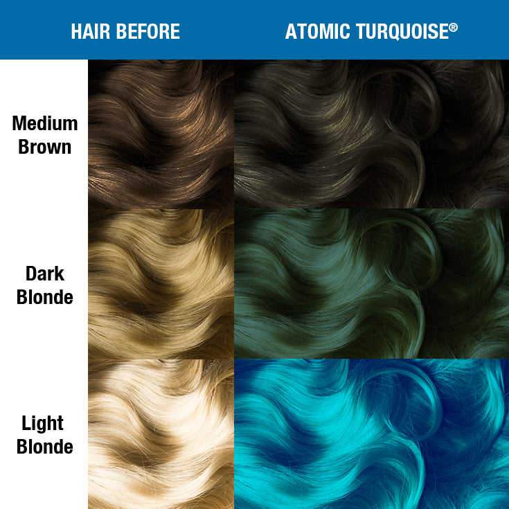 Atomic Turquoise Amplified