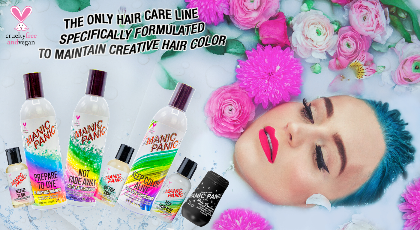 The Only Hair Care Line Specifically Formulated To Maintain Creative Hair Color