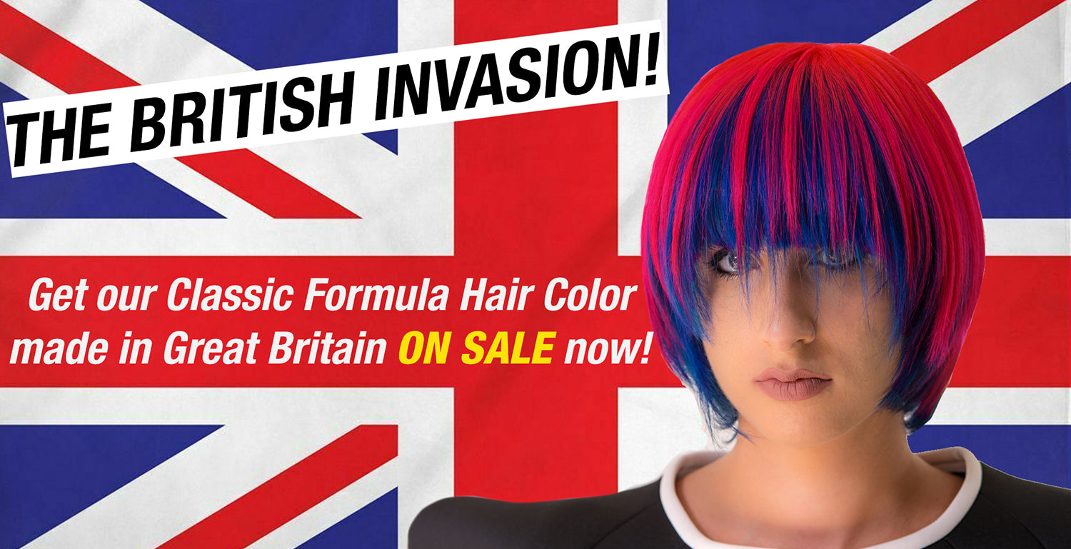EU Classic High Voltage Semi Permanent Hair Color on Sale