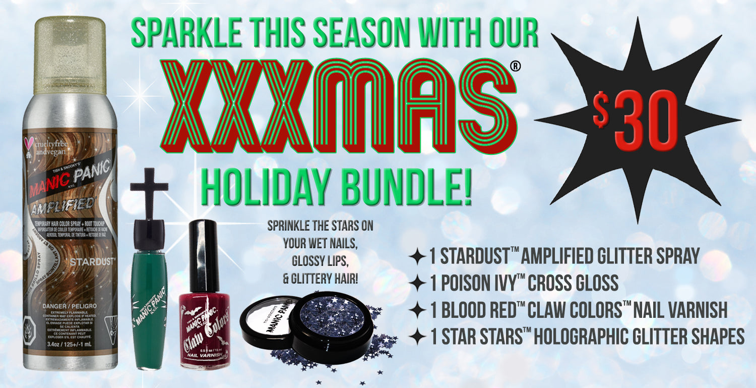 Get Sparkly with our $30 XXXMAS® Holiday Bundle!