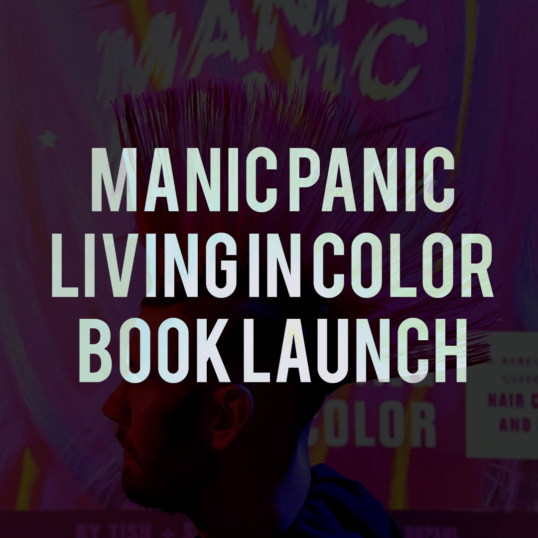 Manic Panic Living in Color Book Launch