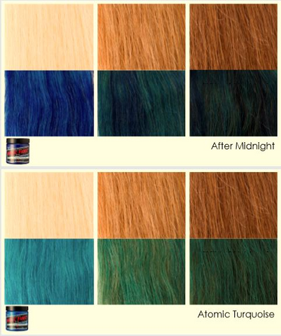 FAQ for Manic Panic Hair Coloring Products