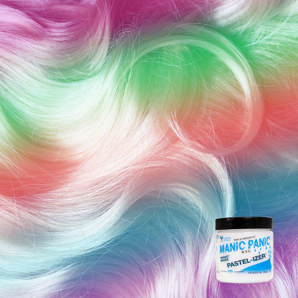 Manic® Mixer/Pastel-izer®, manic panic pastelizer, manic mixer, make any color pastel, conditioner, color mask, color mixer, mix, manic panic semi permanent hair