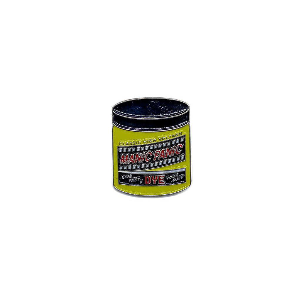 Manic Panic Classic Jar Enamel Pin - Electric Banana