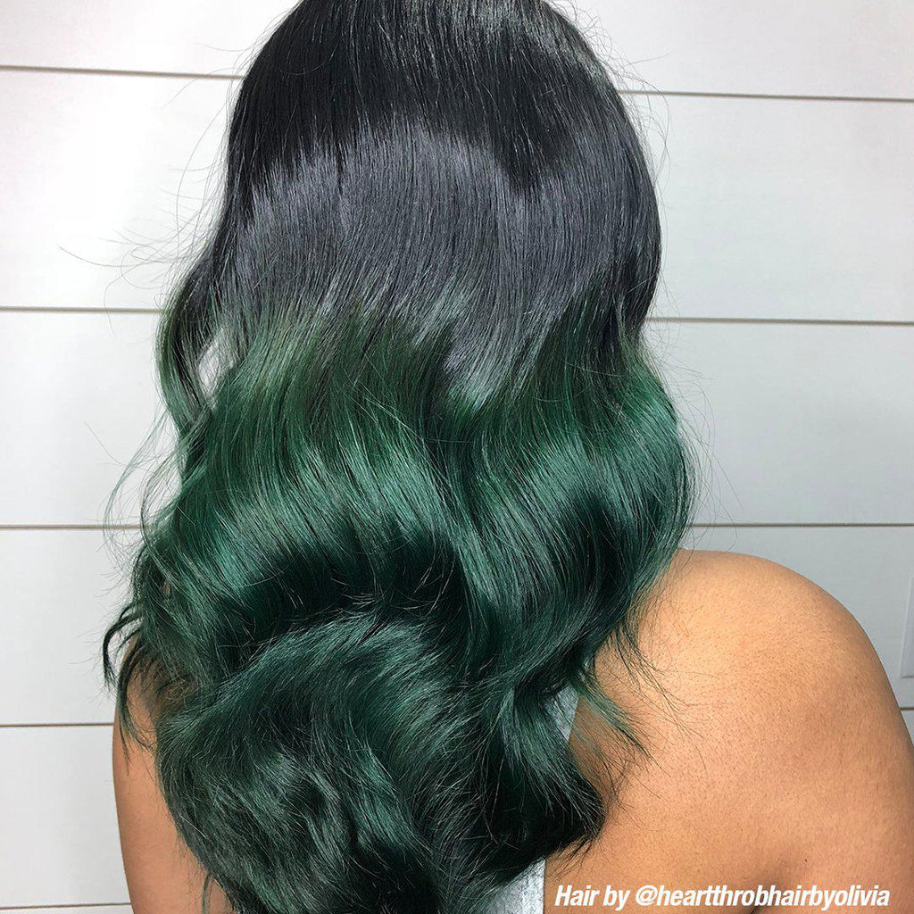 Professional Gel Serpentine® Green - Professional Gel Semi-Permanent Hair Color - Tish & Snooky's Manic Panic