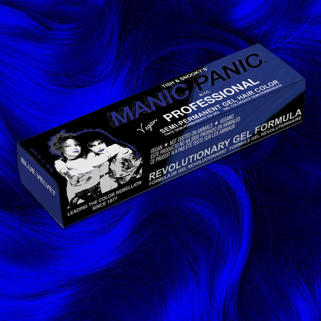 Professional Gel Blue Velvet™ - Professional Gel Semi-Permanent Hair Color - Tish & Snooky's Manic Panic