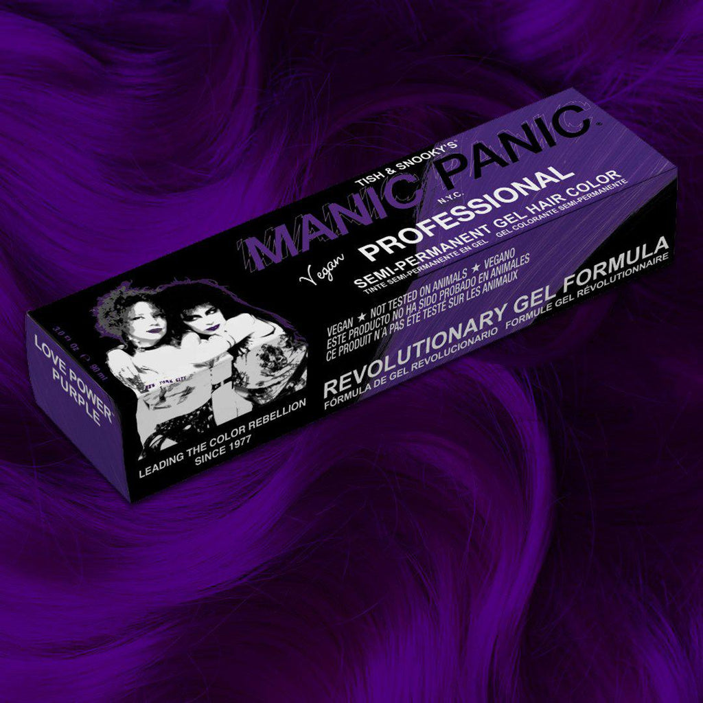 Love Power Purple™ - Professional Gel Semi-Permanent Hair Color - Tish & Snooky's Manic Panic
