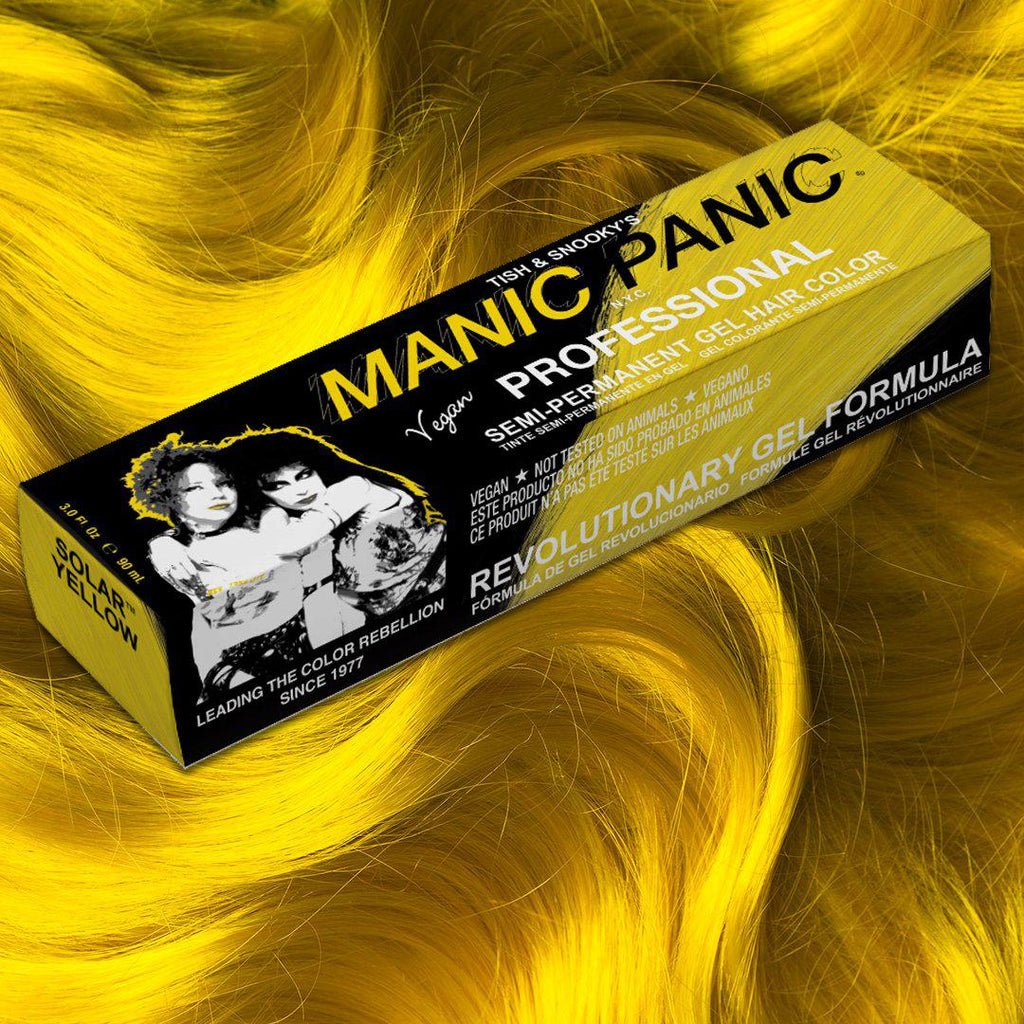 Solar Yellow® - Professional Gel Semi-Permanent Hair Color - Tish & Snooky's Manic Panic