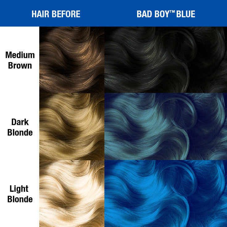 Bad Boy™ Blue - Classic High Voltage® - Tish & Snooky's Manic Panic denim blue
