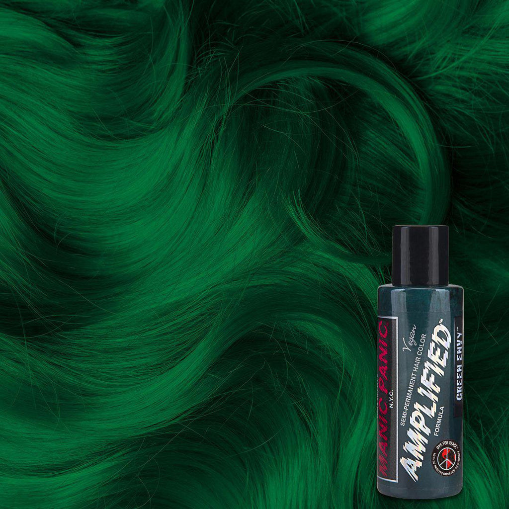 Amplified Hair Color Green Envy™ - Amplified™ - Tish & Snooky's Manic Panic