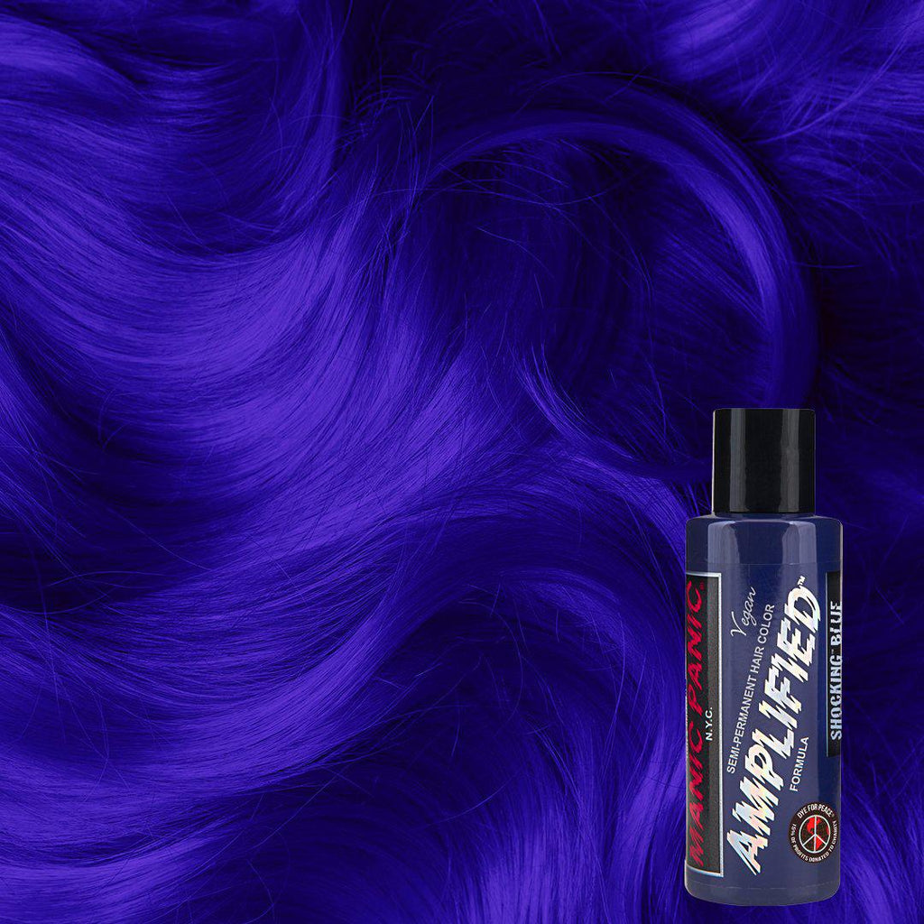 Amplified Hair Color Shocking™ Blue - Amplified™ - Tish & Snooky's Manic Panic