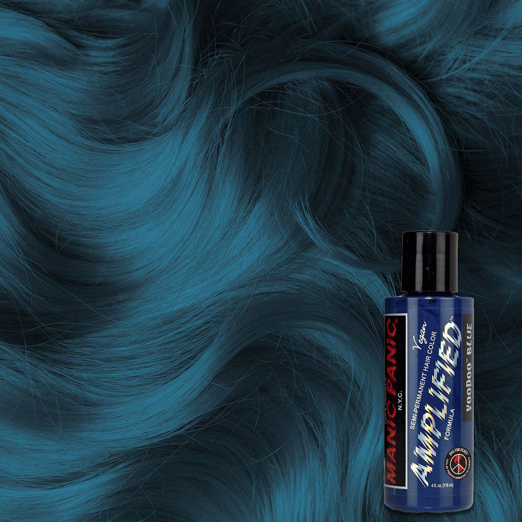 Amplified Hair Color Voodoo Blue™ - Amplified™ - Tish & Snooky's Manic Panic
