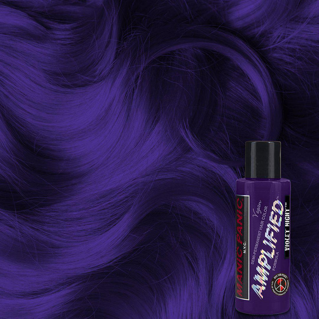 Amplified Hair Color Violet Night™ - Amplified™ - Tish & Snooky's Manic Panic