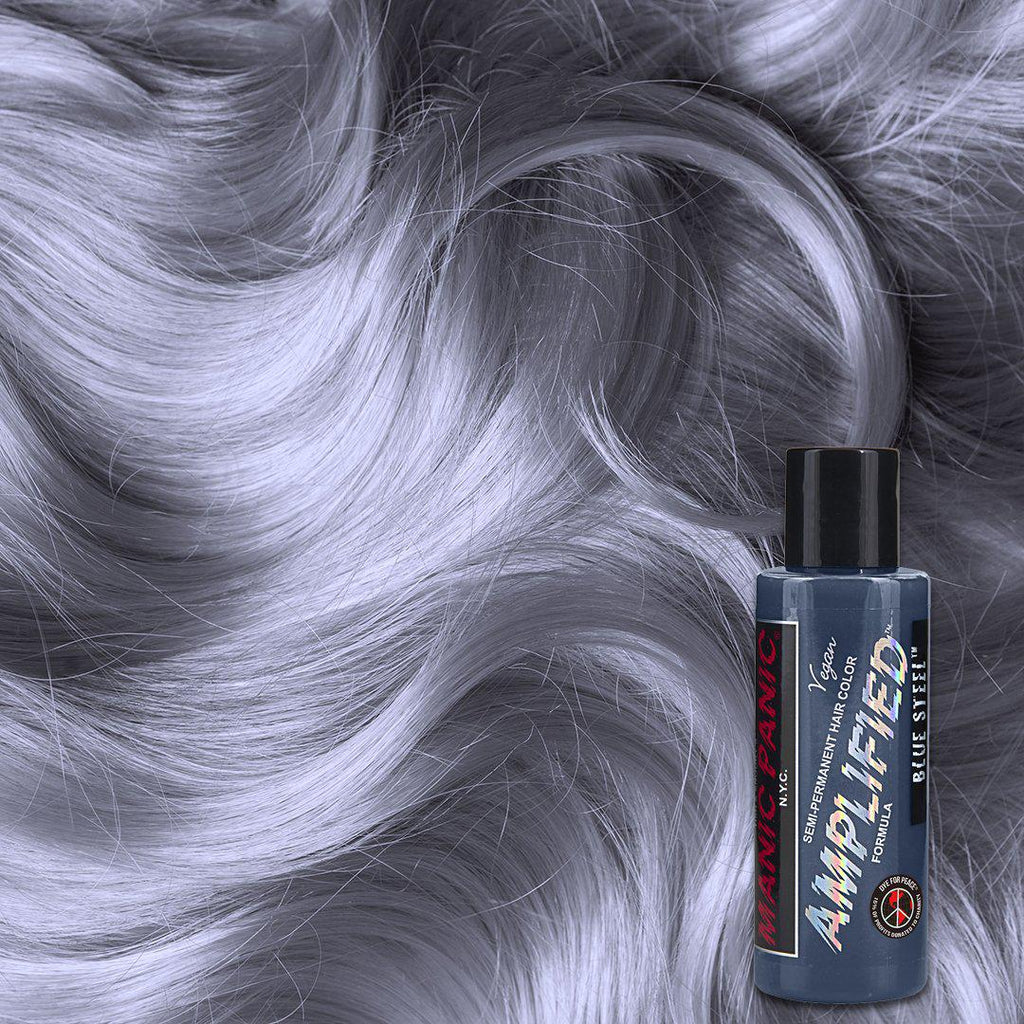 Amplified Hair Color Blue Steel™ - Amplified™ - Tish & Snooky's Manic Panic