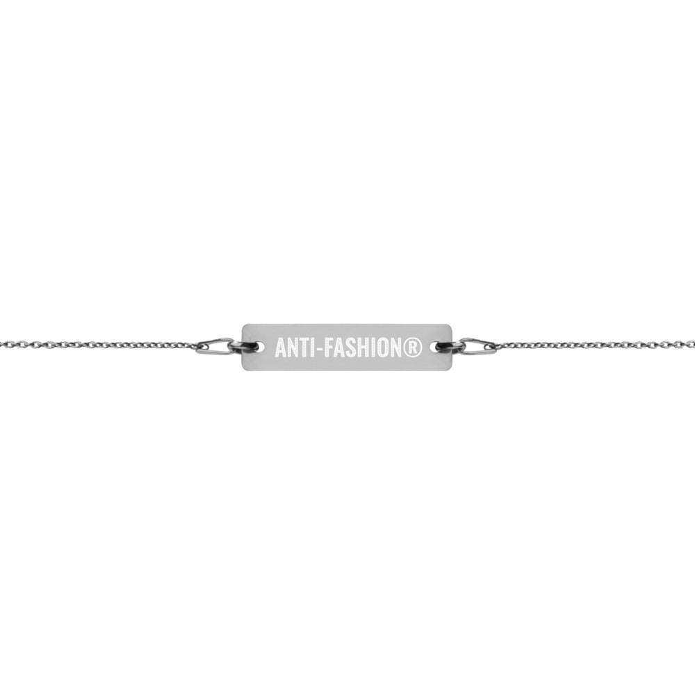 Anti-Fashion® Engraved Bracelet