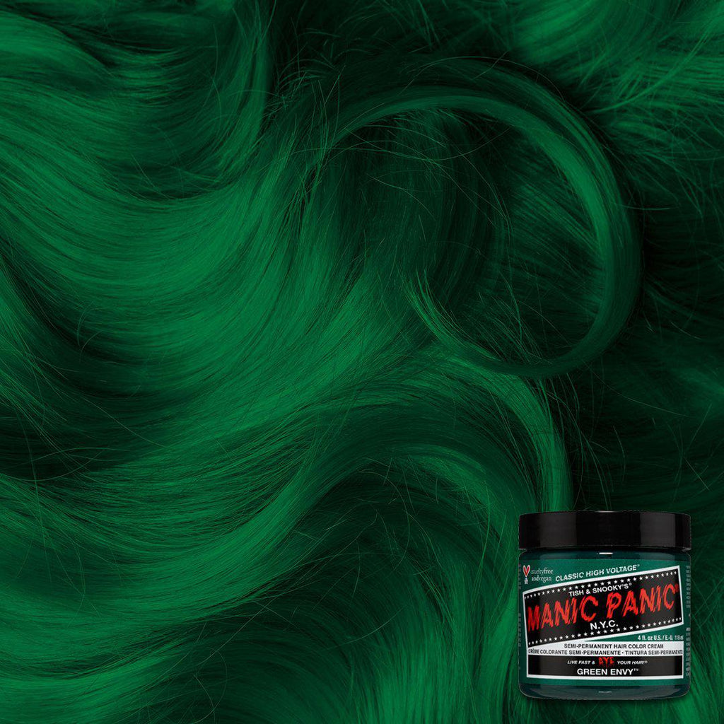 Classic Hair Color Green Envy™ - Classic High Voltage® - Tish & Snooky's Manic Panic