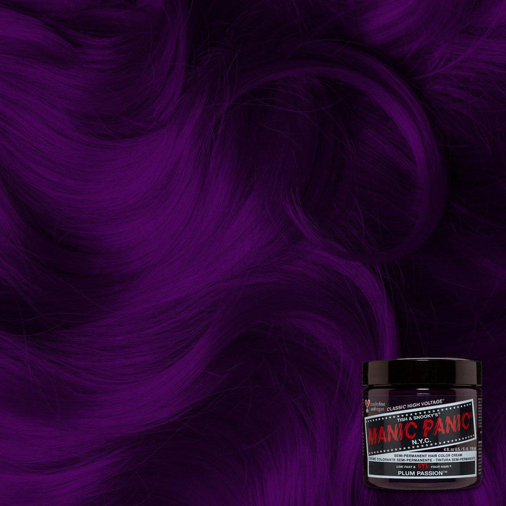 Classic Hair Color Plum Passion™ - Classic High Voltage® - Tish & Snooky's Manic Panic