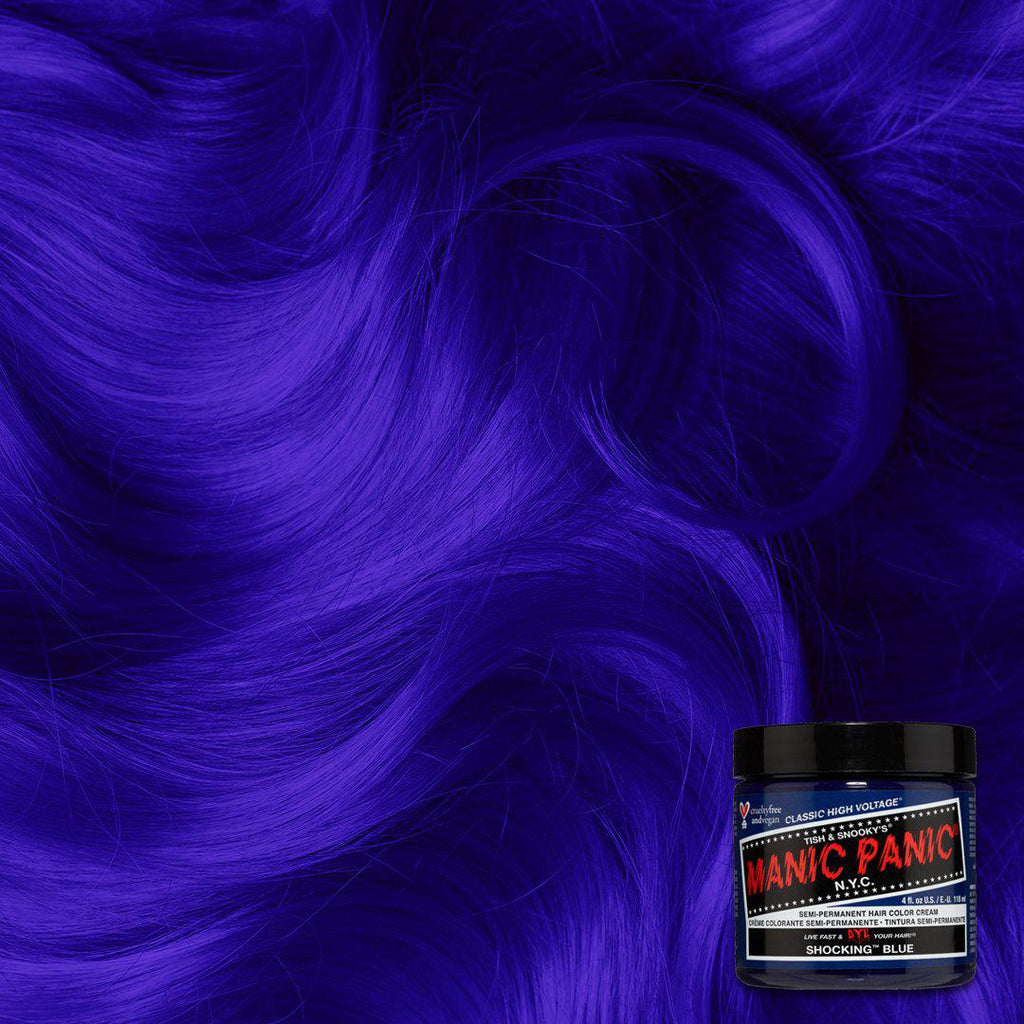 Classic Hair Color Shocking™ Blue - Classic High Voltage® - Tish & Snooky's Manic Panic
