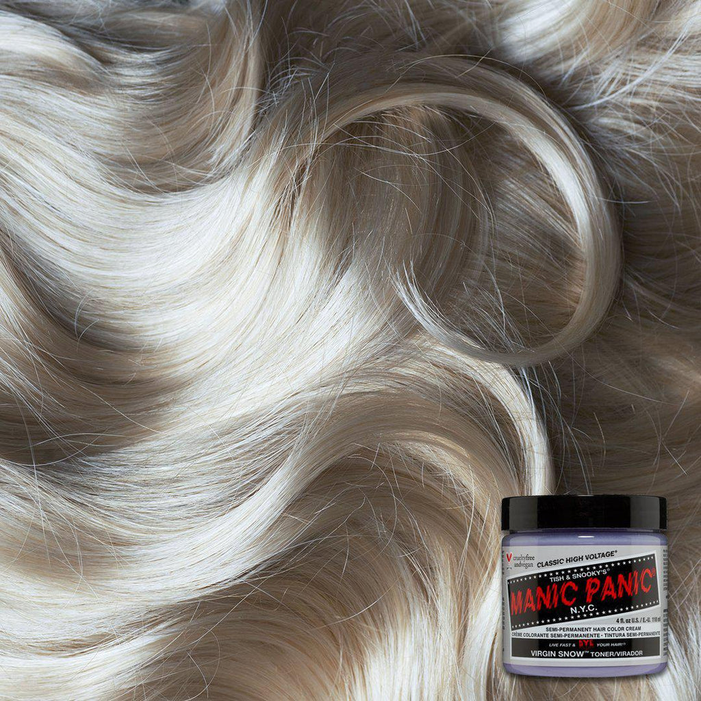 Classic Hair Color Virgin Snow™ (Toner)  - Classic High Voltage® - Tish & Snooky's Manic Panic