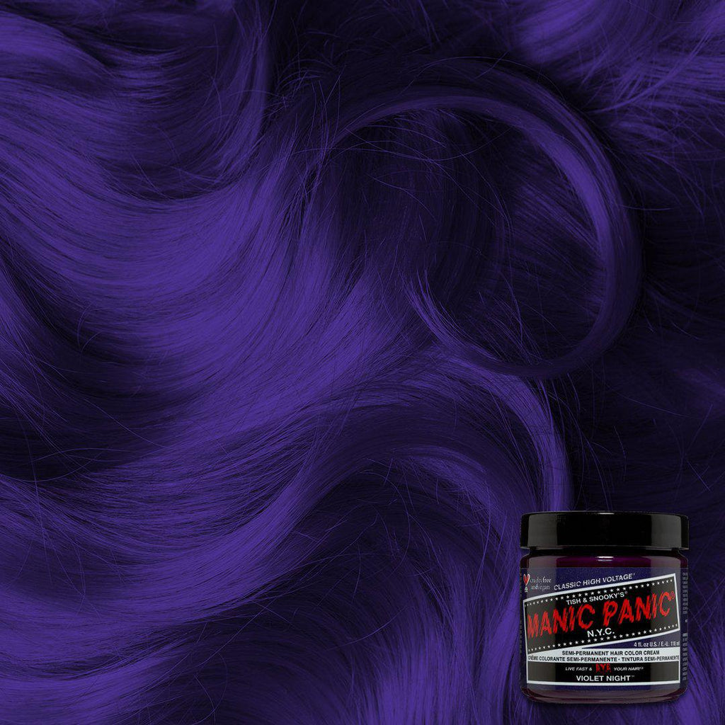 Classic Hair Color Violet Night™ - Classic High Voltage® - Tish & Snooky's Manic Panic