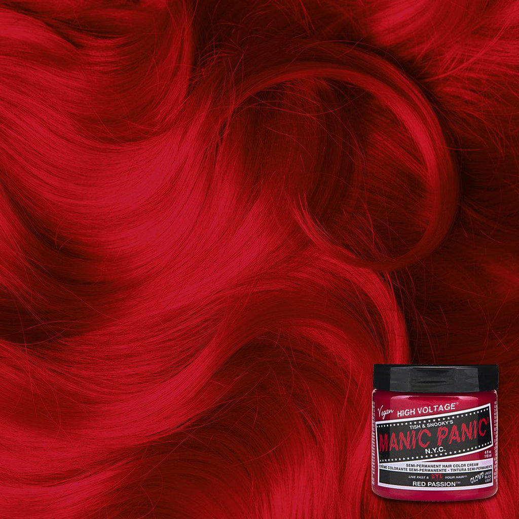 Red Passion Classic High Voltage Tish Snooky S Manic Panic