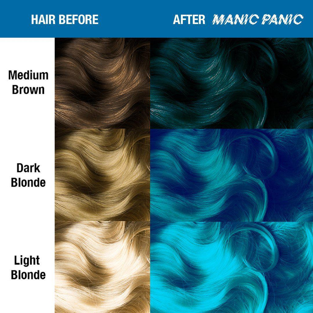Amplified Hair Color Atomic Turquoise® - Amplified™ - Tish & Snooky's Manic Panic
