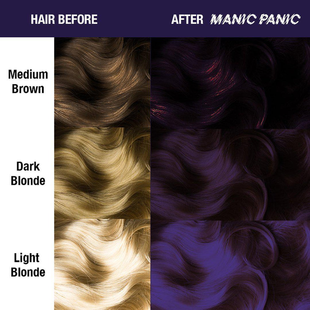 Amplified Hair Color Purple Haze® - Amplified™ - Tish & Snooky's Manic Panic