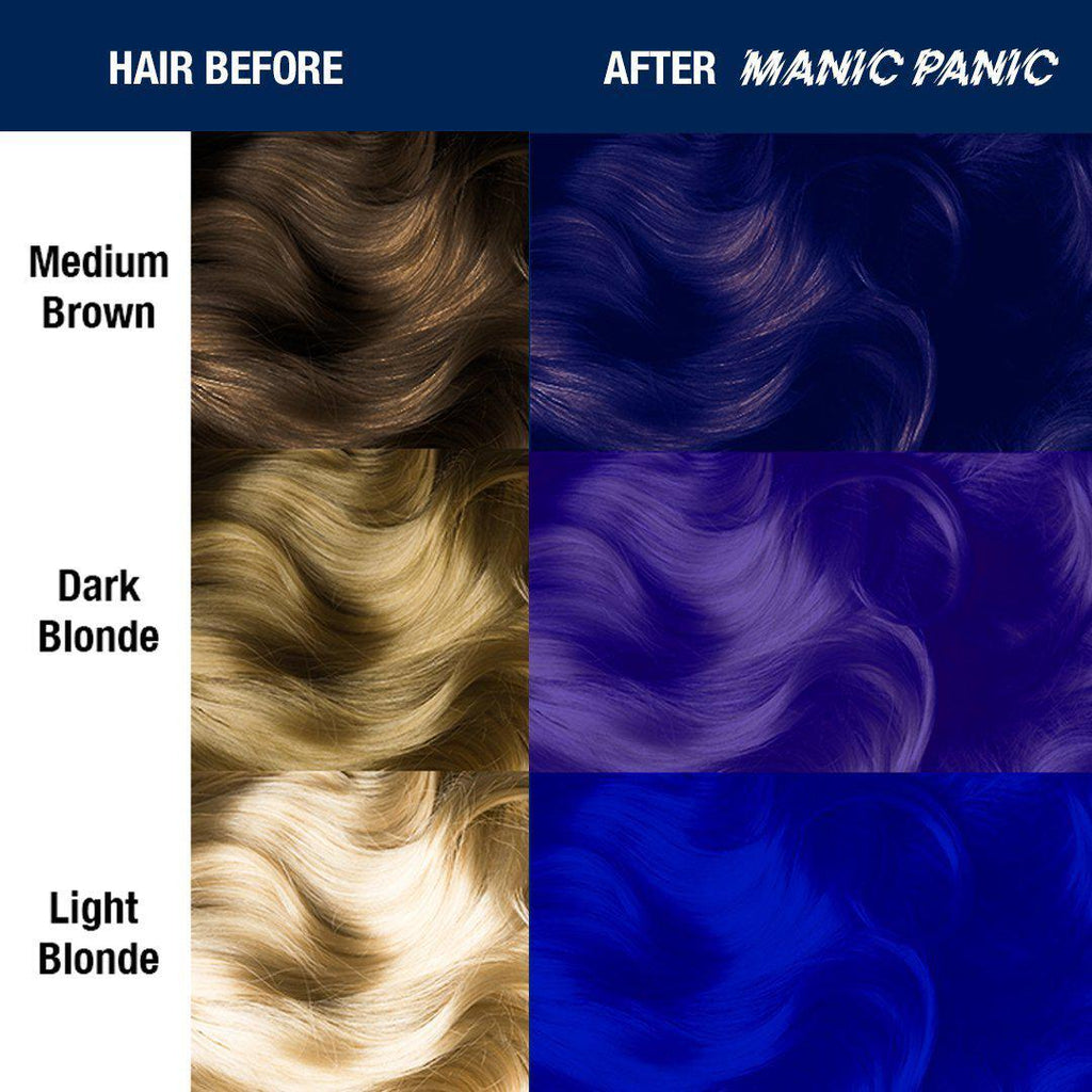 Tish & Snooky's Manic Panic Amplified Hair Color Shocking™ Blue - Amplified™