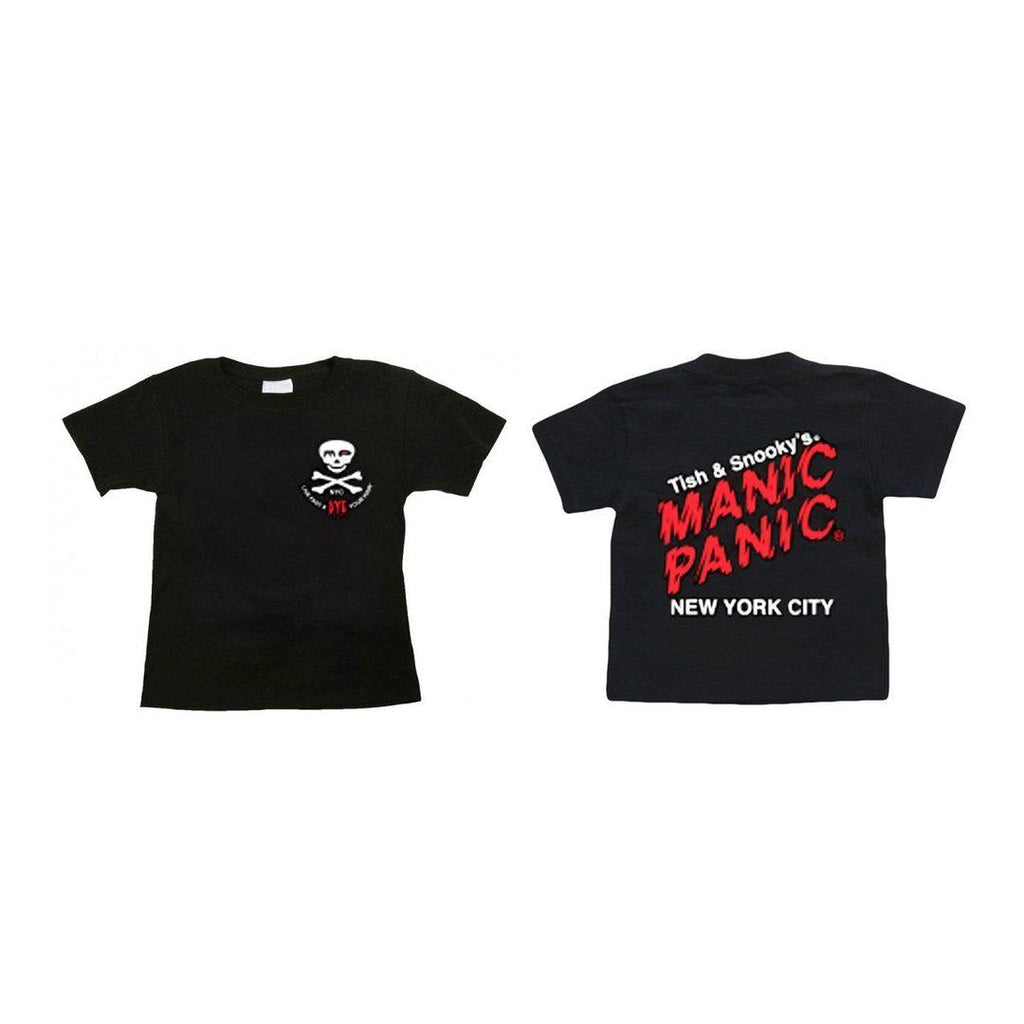 Tish & Snooky's Manic Panic Apparel 2T Toddler T-Shirt - double sided logo