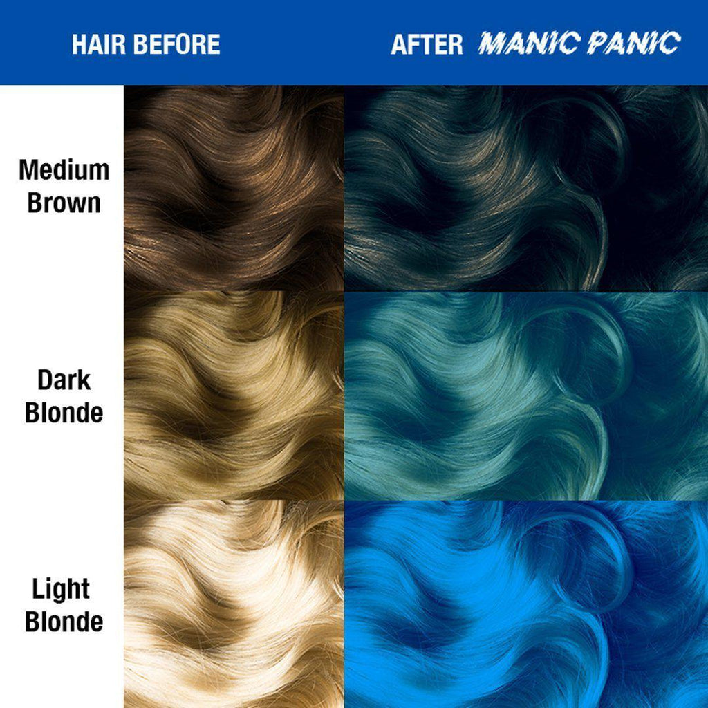Bad Boy Blue Amplified Semi Permanent Hair Color Tish Snooky S Manic Panic