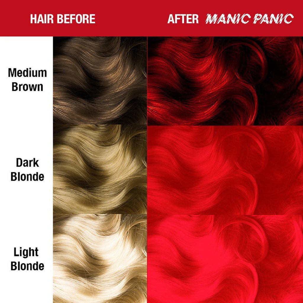 Tish & Snooky's Manic Panic Classic Hair Color Pillarbox™ Red - Classic High Voltage®