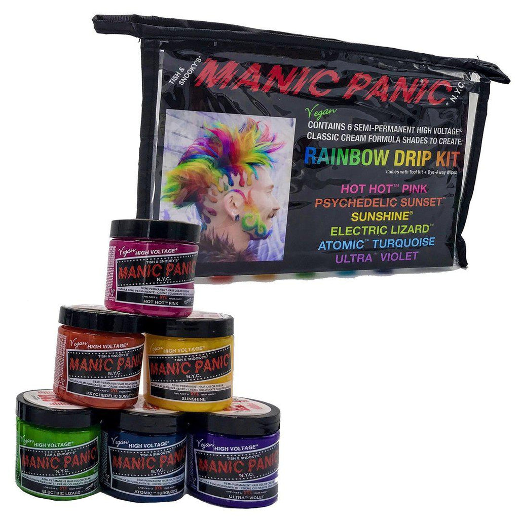 Tish & Snooky's Manic Panic Classic Hair Color Rainbow Drip Kit