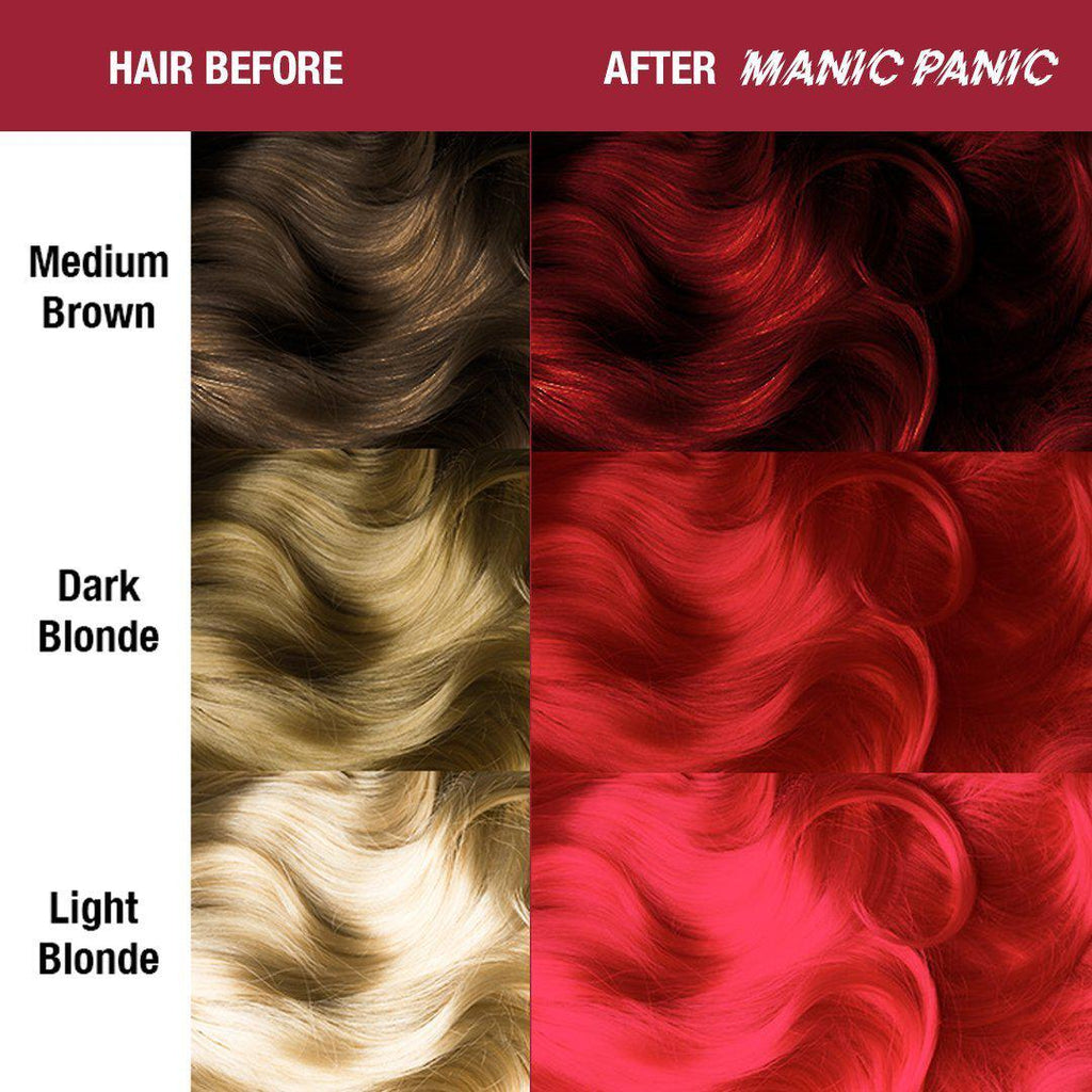 Classic Hair Color Rock 'N' Roll® Red - Classic High Voltage® - Tish & Snooky's Manic Panic