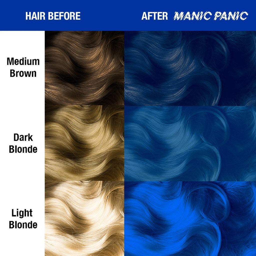 Classic Hair Color Rockabilly® Blue - Classic High Voltage® - Tish & Snooky's Manic Panic