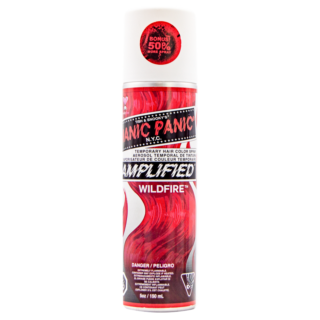 Color Spray Wildfire - Amplified™ Temporary Spray-On Color and Root Touch-Up - LIMITED EDITION - 50% MORE! - Tish & Snooky's Manic Panic