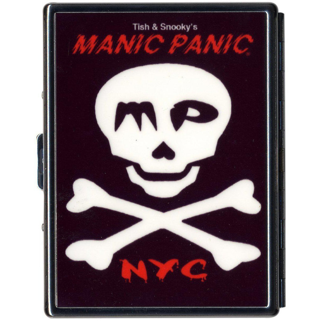 GIFTS SKULLY CIGARETTE CASE - Tish & Snooky's Manic Panic