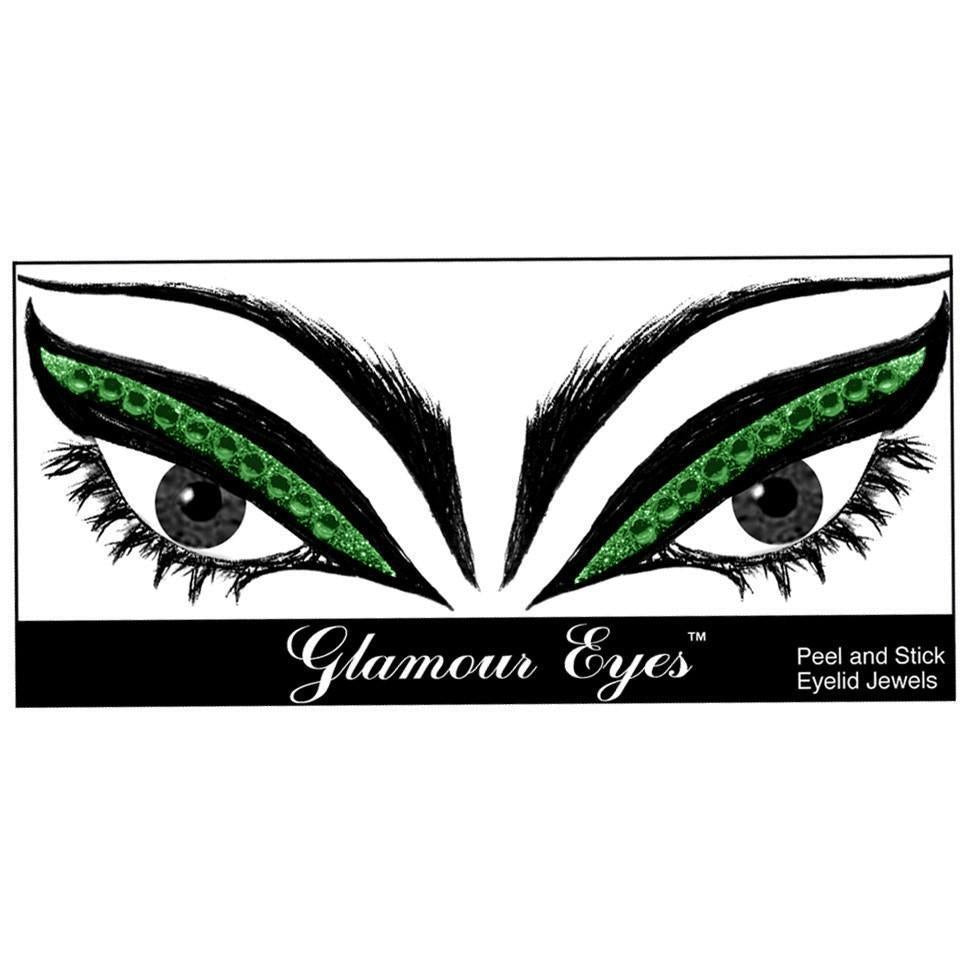 Glamnation Cosmetics Glamour Eyes® Eyelid Jewels - Emerald City™ - Tish & Snooky's Manic Panic