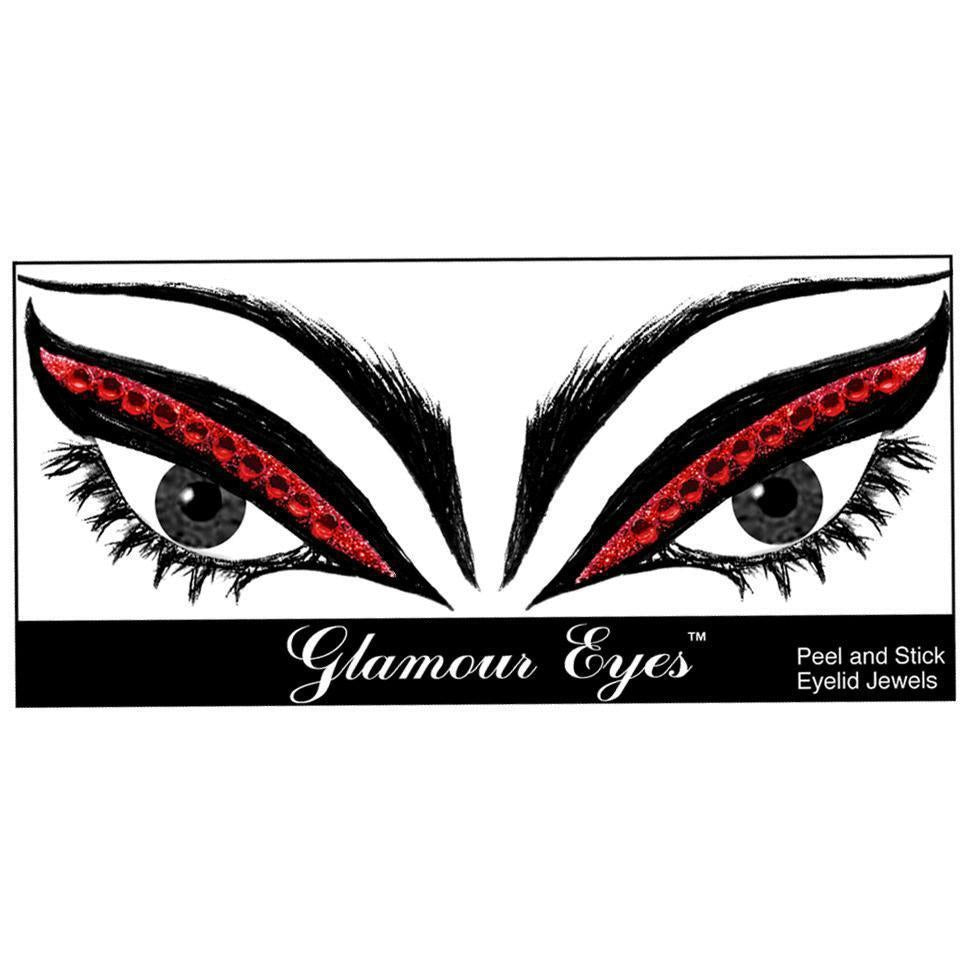 Glamnation Cosmetics Glamour Eyes® Eyelid Jewels - Ruby Slippers™ - Tish & Snooky's Manic Panic