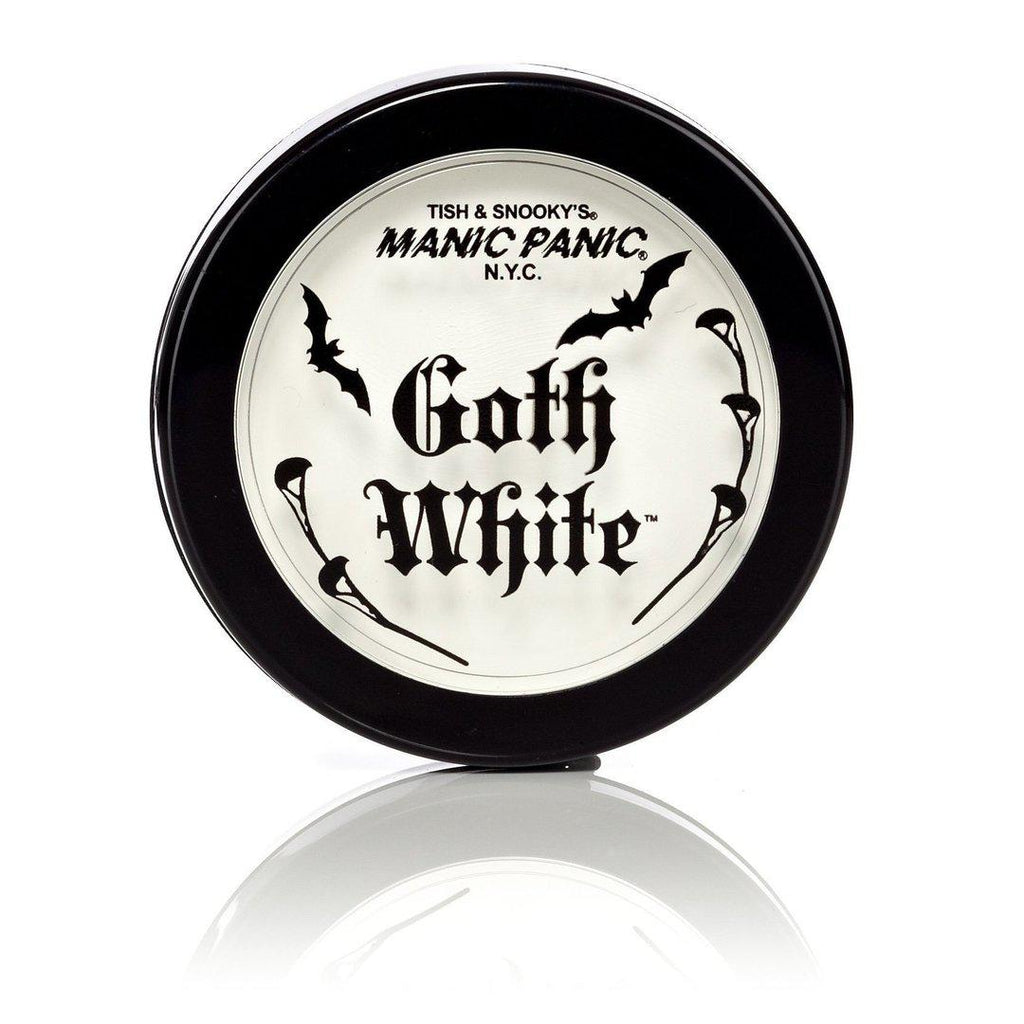 Glamnation Cosmetics Goth White™ Cream/Powder Foundation - Tish & Snooky's Manic Panic