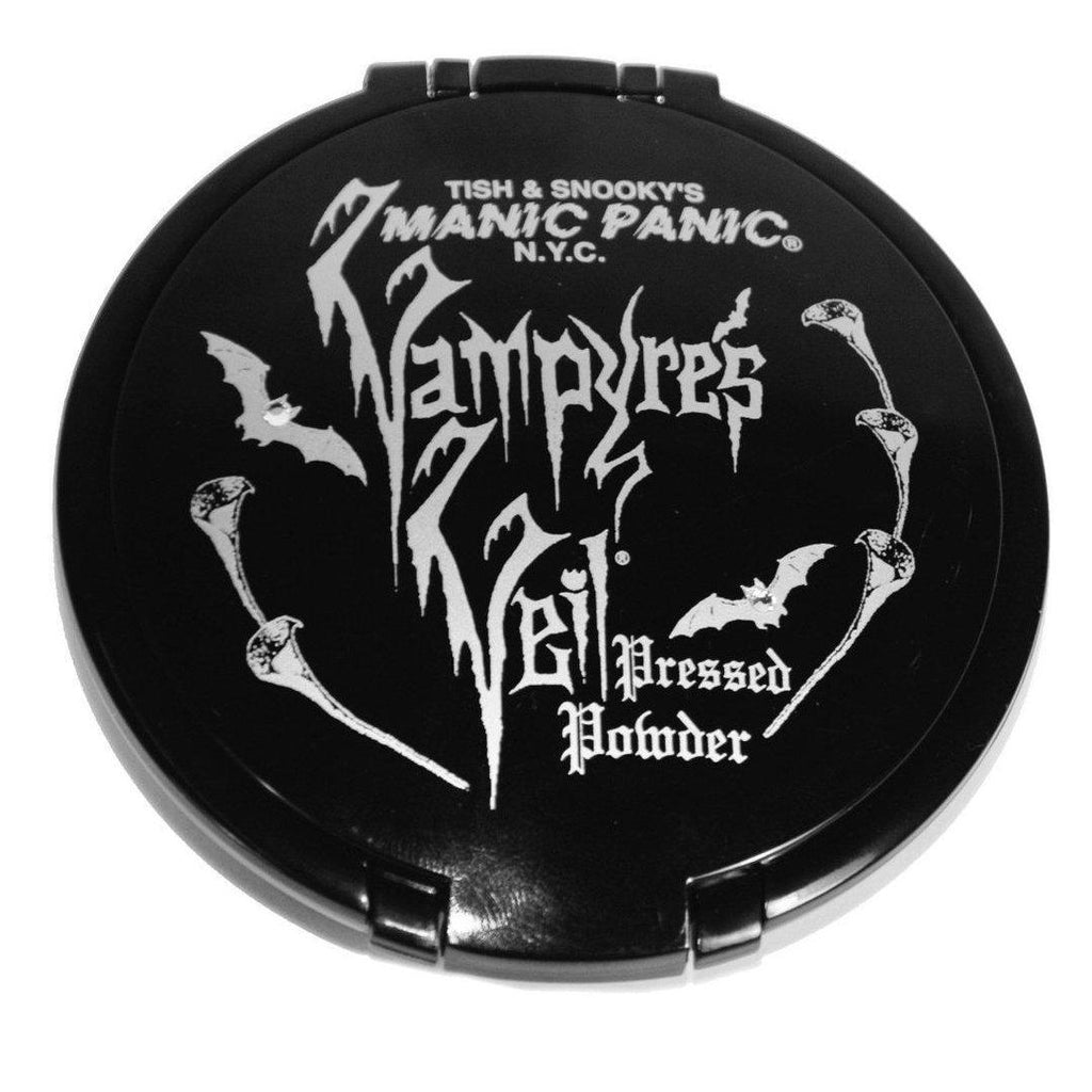 Glamnation Cosmetics Vampyre's Veil® Pressed Powder Candlelight™ (dark) - Tish & Snooky's Manic Panic