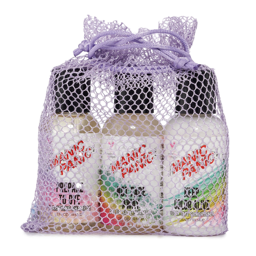 Tish & Snooky's Manic Panic MINI SHAMPOO COLLECTION SET OF 3 2oz BOTTLES