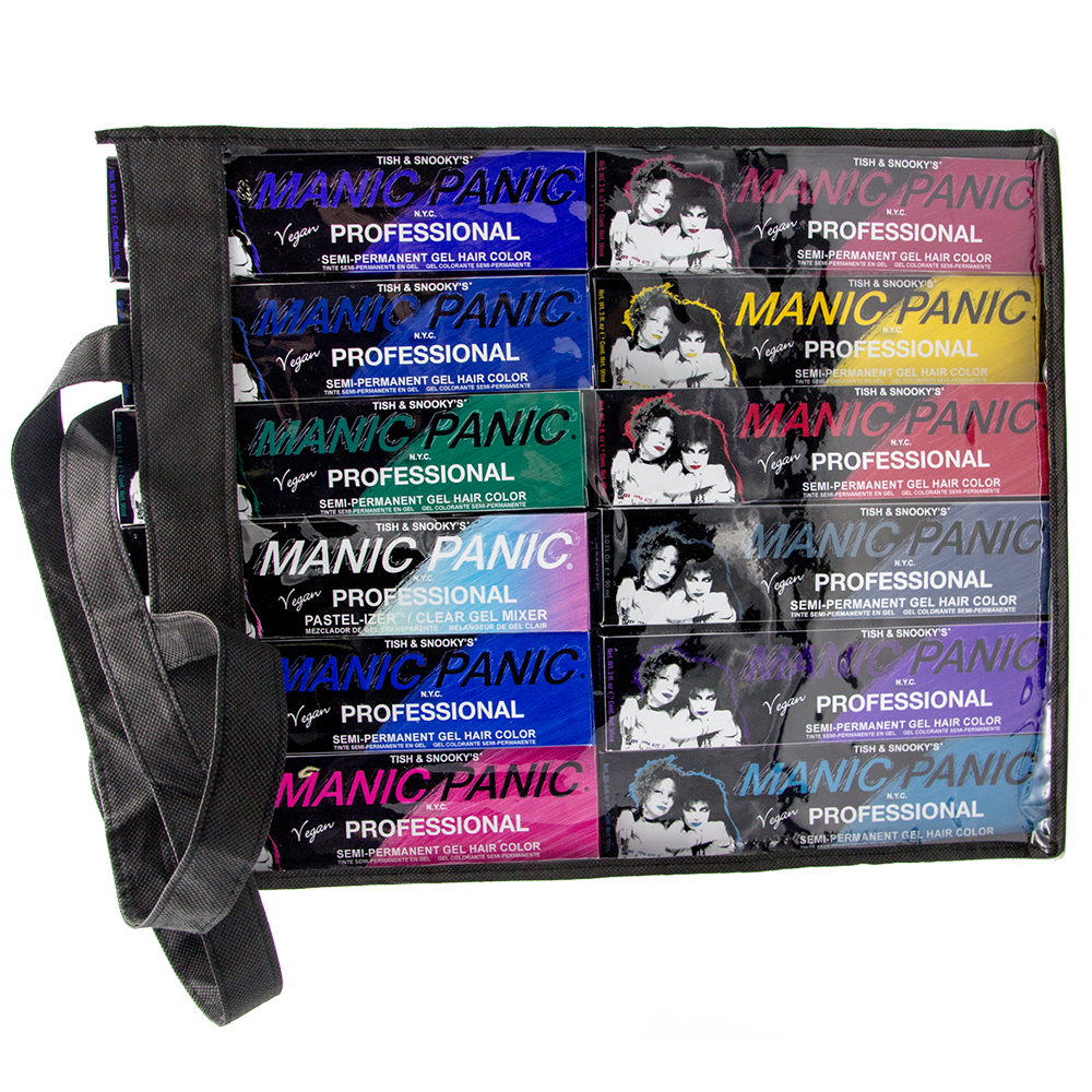 Tish & Snooky's Manic Panic Professional Gel Professional Hair Color Intro Kit - 12 pieces plus extras